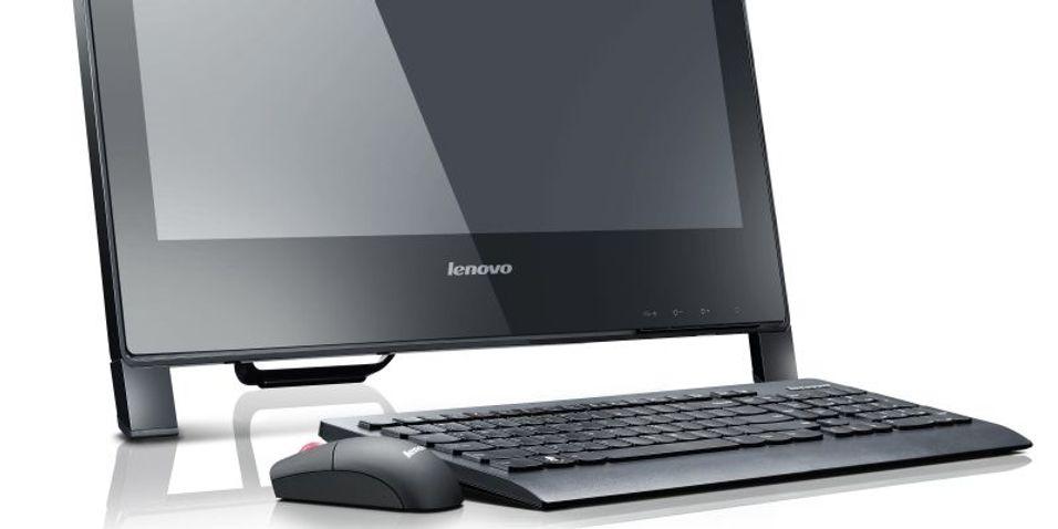 Lenovo klatrer mot PC-toppen