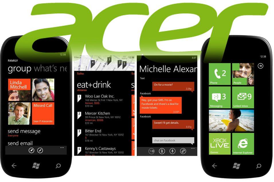 Acer vil lage superbillig Windows-mobil
