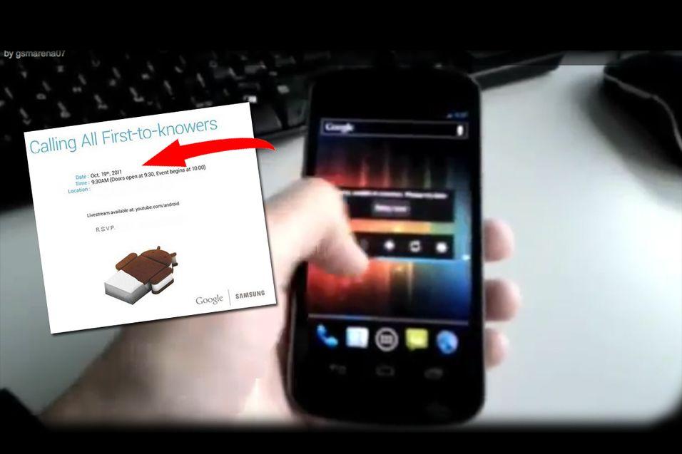 Google Nexus-lansering har fått dato