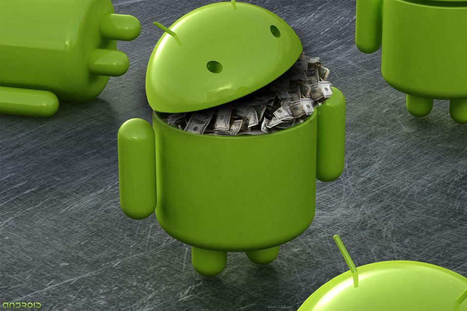 Androidmobiler selger som varmt hvetebrød