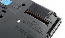 Fujitsu LifeBook S751 er en bærbar med noe såpass sjeldent som en egen luke for støvfjerning.