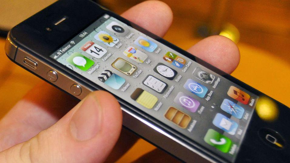 SNIKTITT: Slik er iPhone 4S