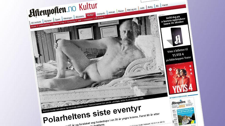 Faksimile fra Aftenposten.no