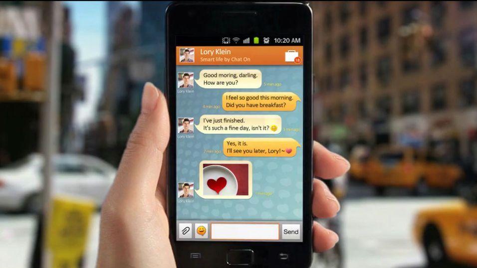 Her er Samsungs chatte-tjeneste