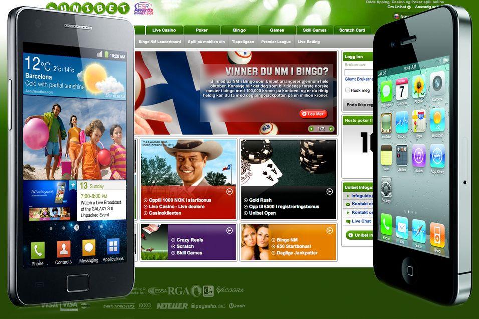 Mobil tippefest i Norge