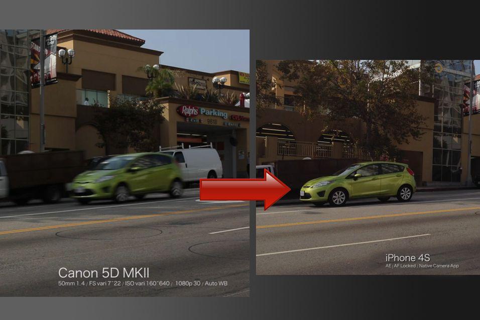 Så bra er videokameraet til iPhone 4S