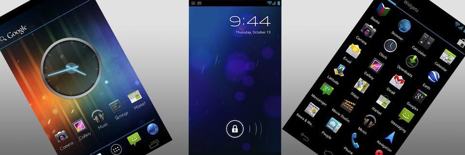 Endelig øker Android 4