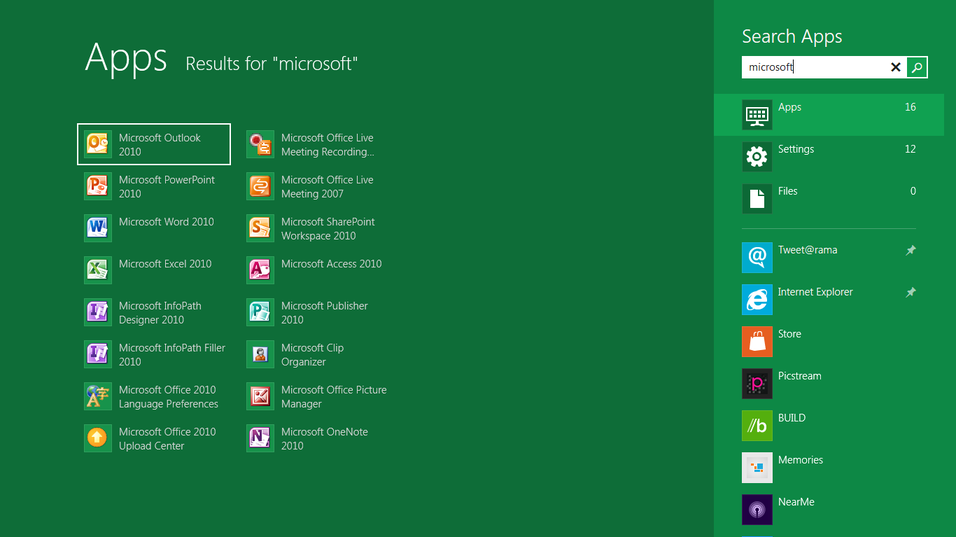 Slik blir startmenyen i Windows 8