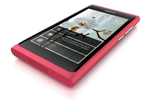 Det er ikke vanskelig å se likheten til Nokia N9.