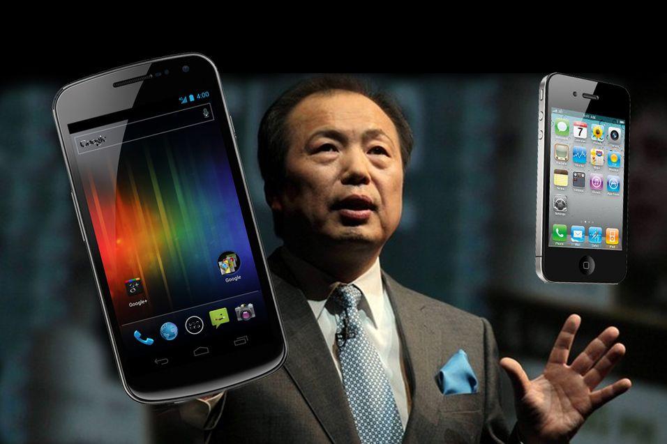Samsung-sjef Shin Jong-kyun.