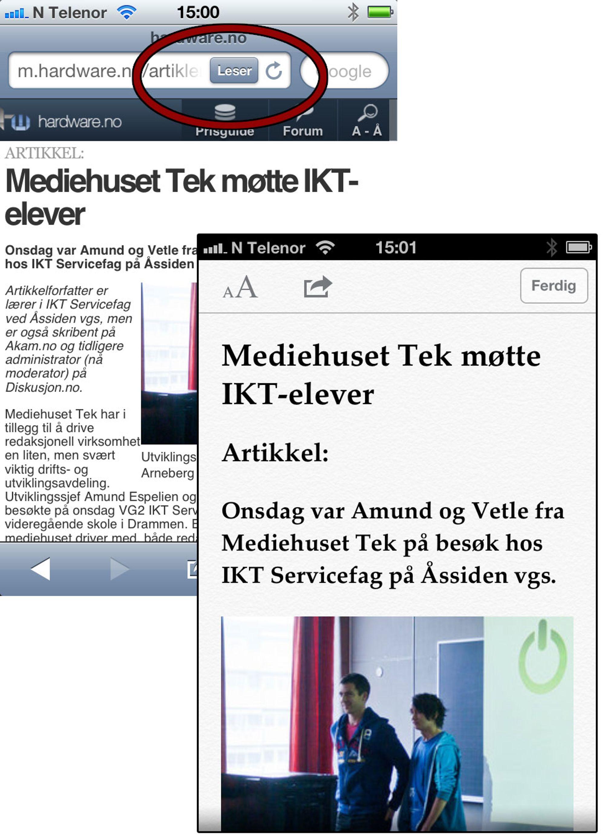 723461ae3 TEST: Apple iPhone 4S - Tek.no