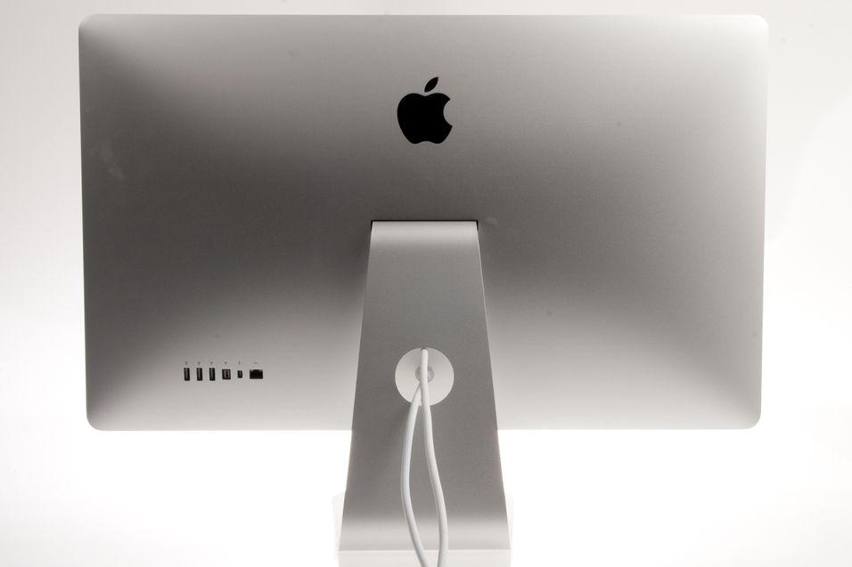 Slik ser Apples 27 tommer store Thunderbolt Display ut.
