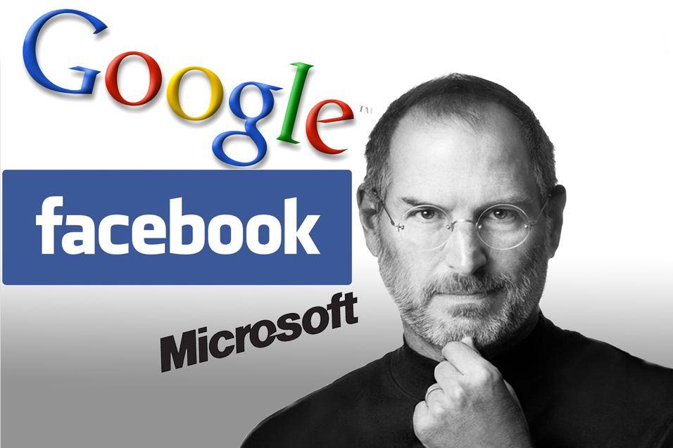 Steve Jobs beundret Facebook