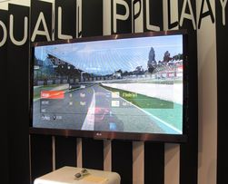 LGs Dual Play som vist frem på årets IFA-messe.