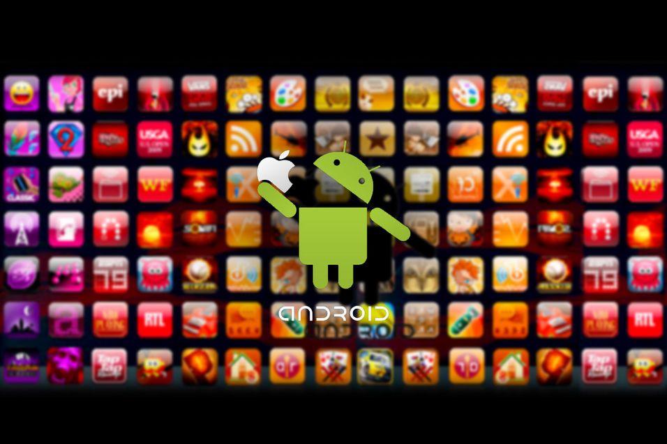 Android Market er snart større enn App Store