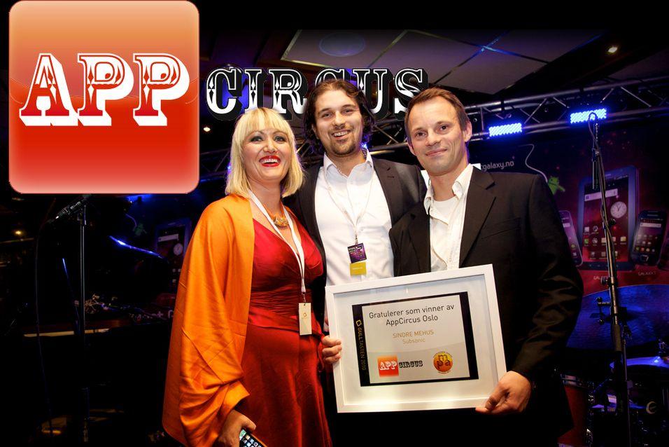 I fjor vant Sindre Mehus for applikasjonen Subsonic.