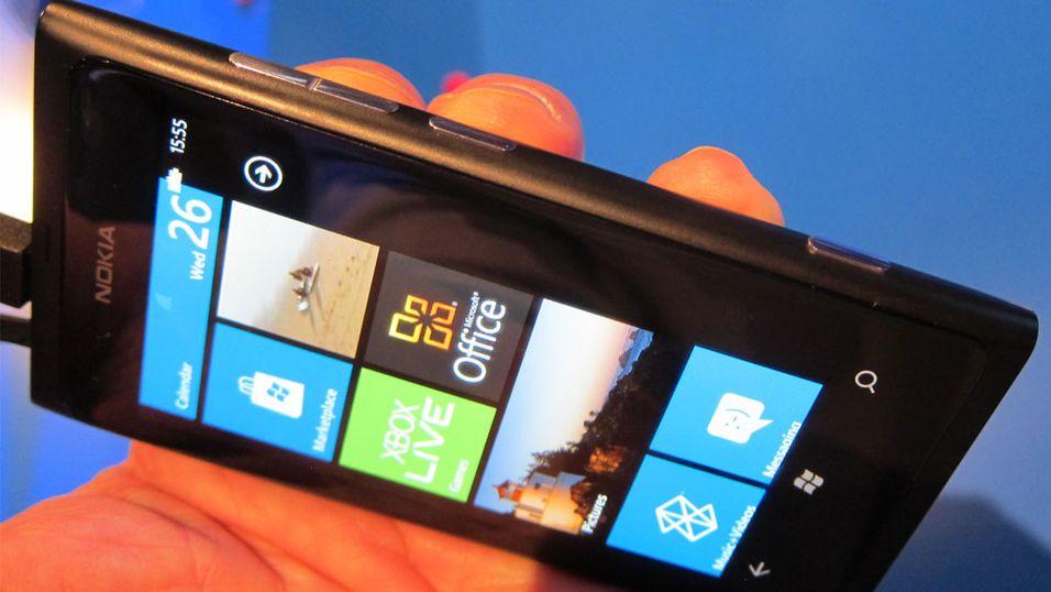 Lumia 800 har gitt Nokia en knallstart i Windows Phone-markedet.