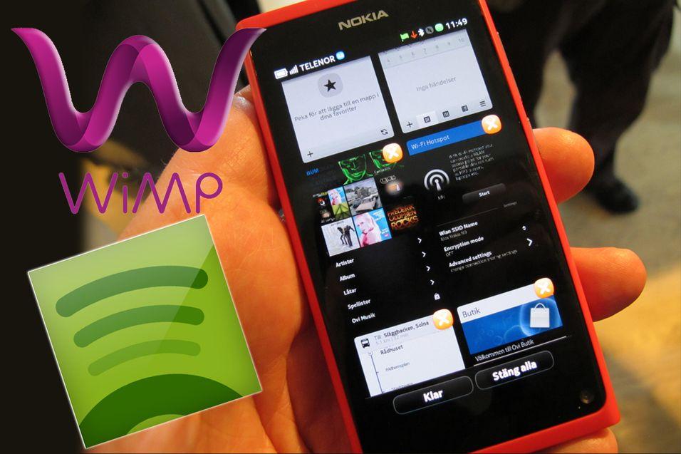 Nokias toppmodell får musikkstreaming