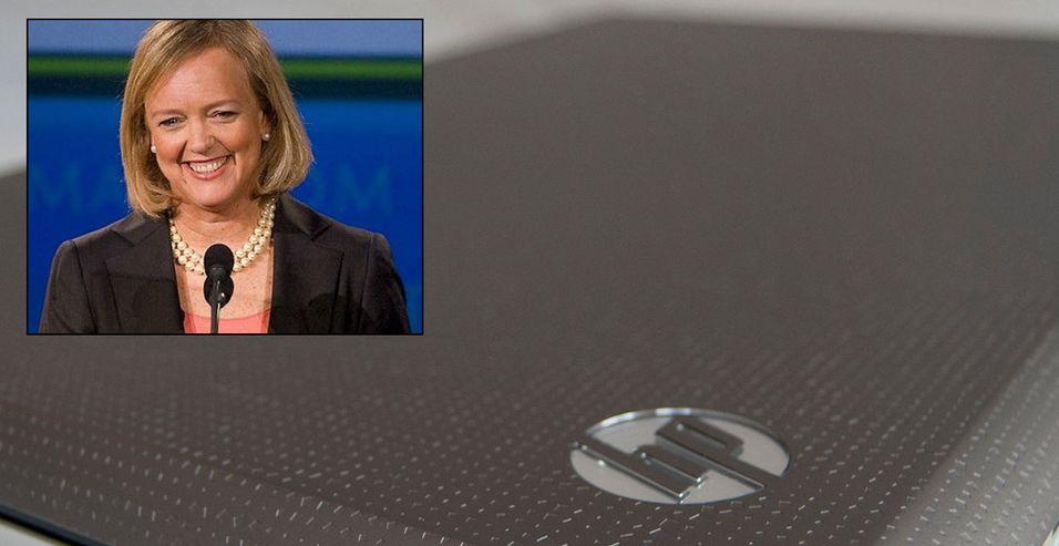 Meg Whitman, HPs administrerende direktør, velger å beholde PC-divisjonen