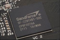 Kontrolleren er fra SandForce