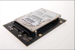 Harddisken er fra Toshiba, med 5400 RPM