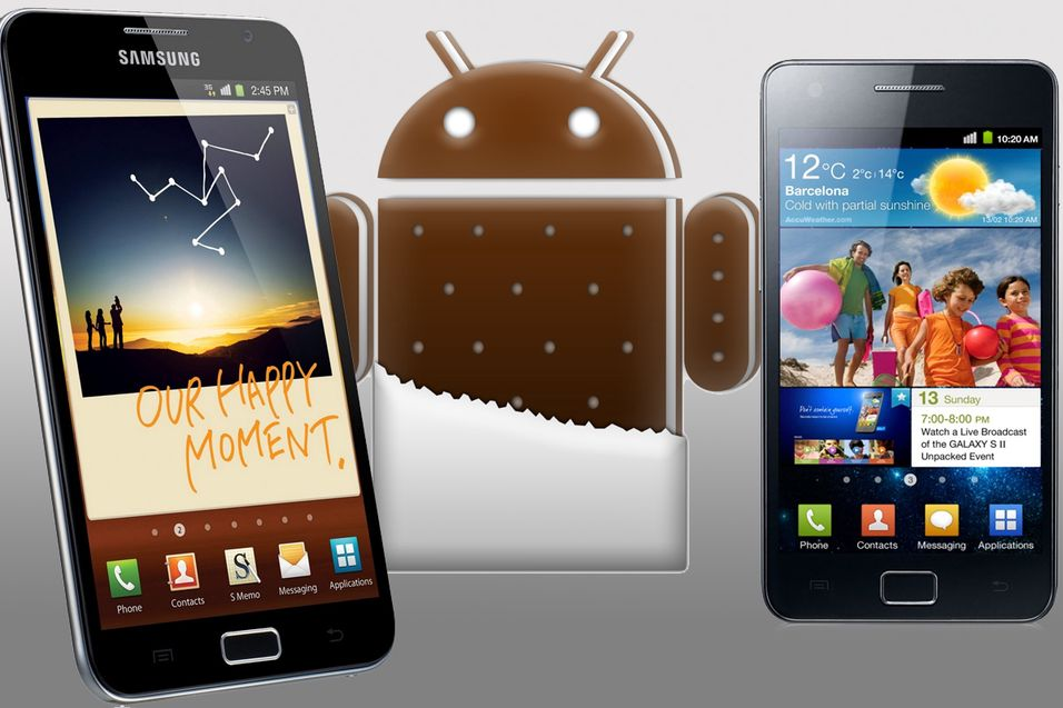 Samsung lover å oppdatere toppmobilene sine
