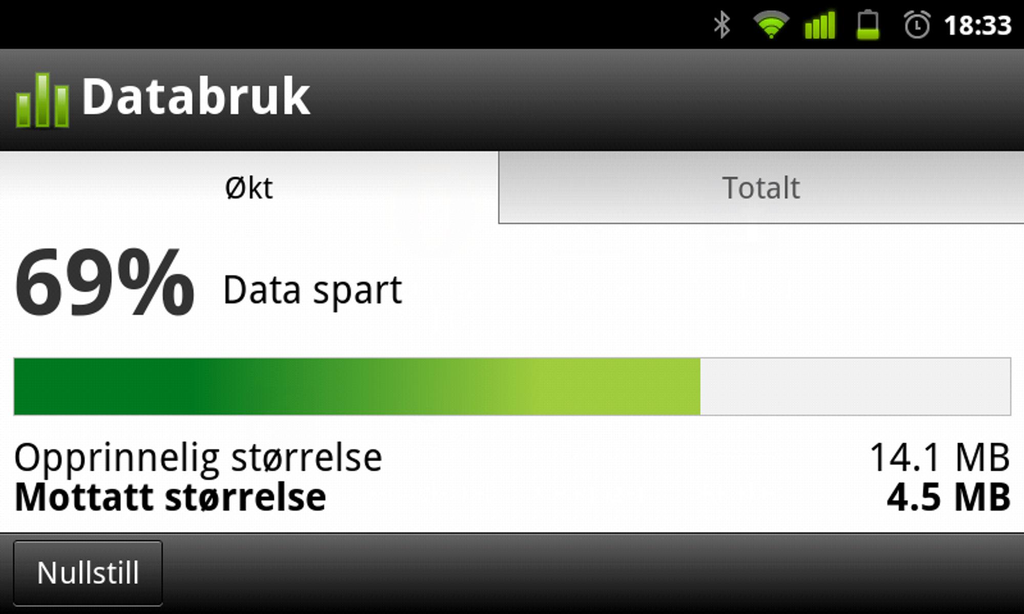 0e8ca147 Opera Turbo er spesielt undervurdert når Edge er eneste mulighet, for her  sparer du faktisk mye data.