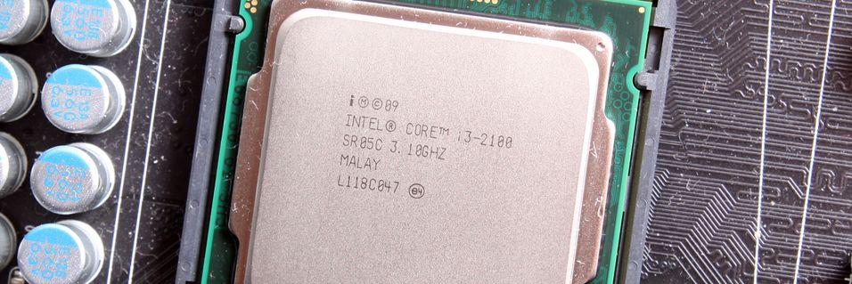 TEST: Intel Core i3 2100