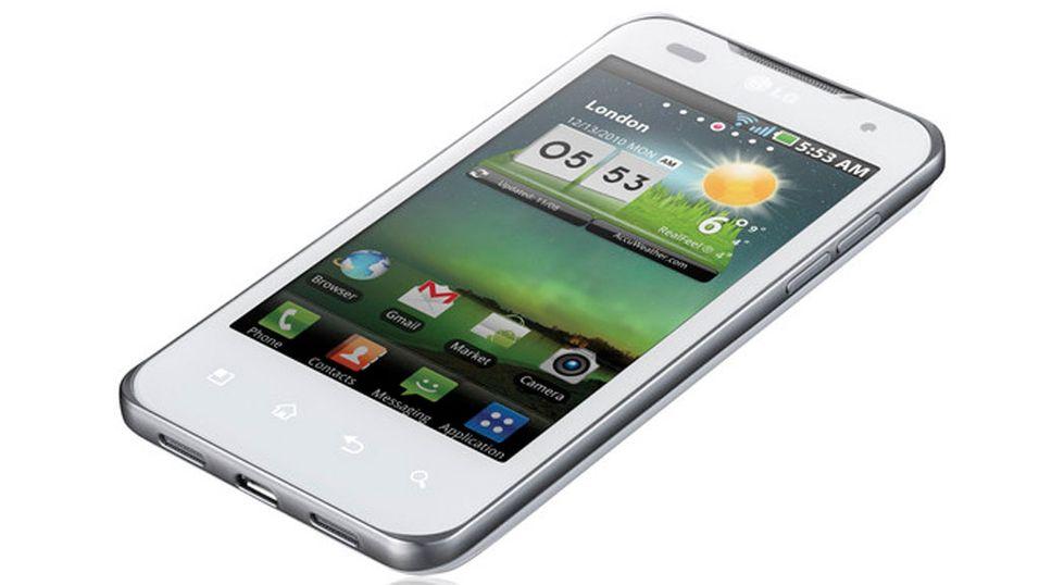 LG Optimus 2X kommer i hvitt