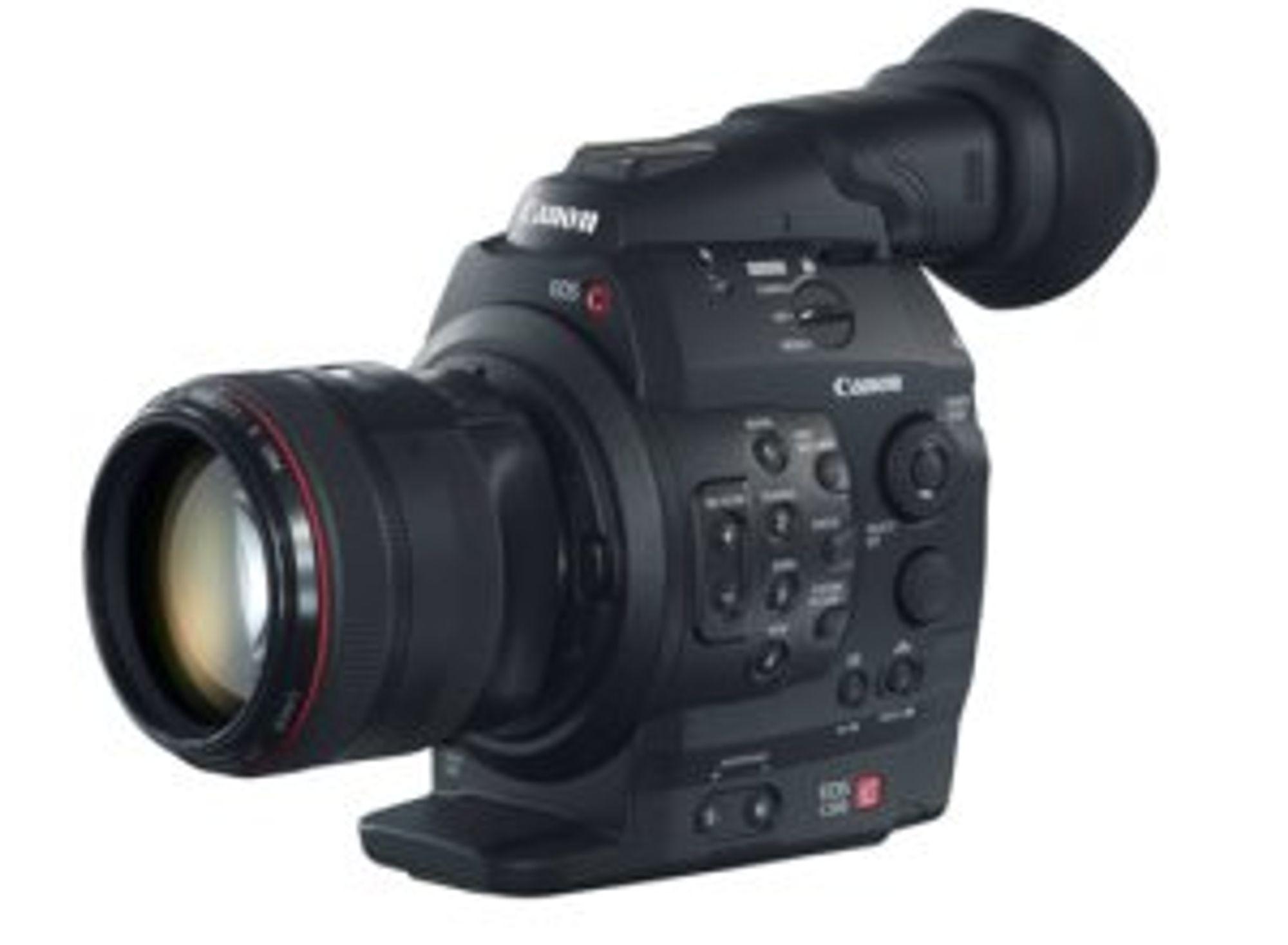 Hils på Canons nye filmkamera EOS C300.