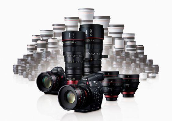 Det nye Canon Cinema EOS-systemet.