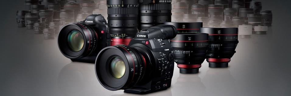 Canon frir til filmskaperne