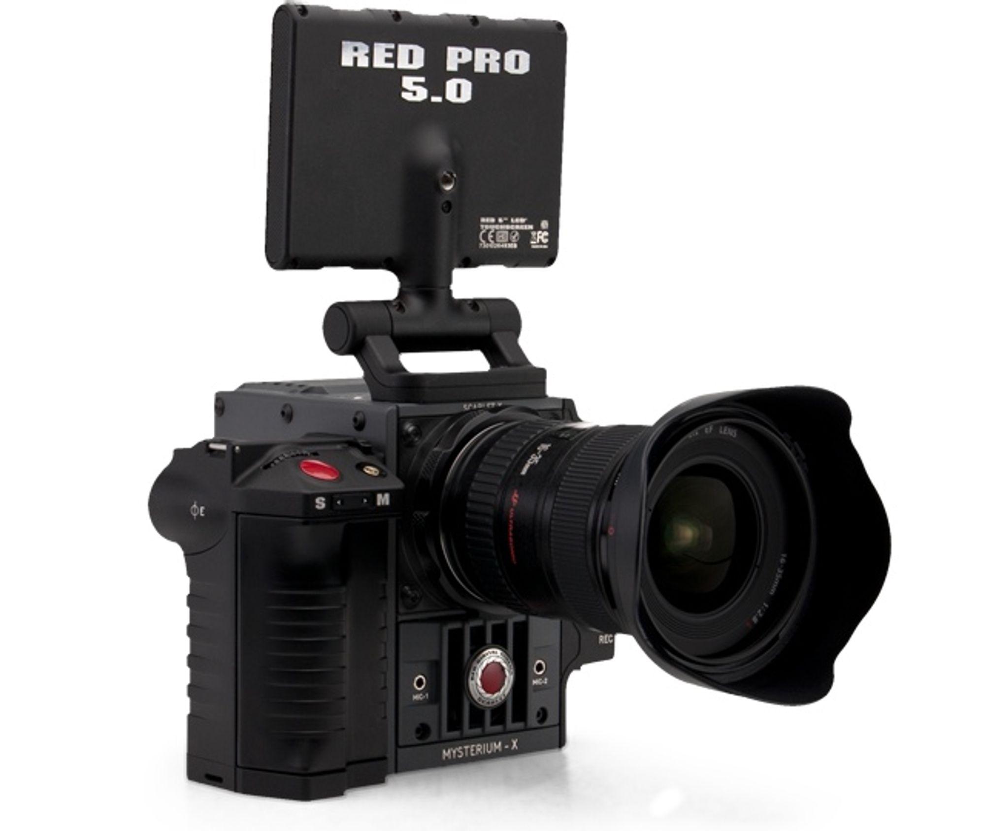 RED slapp Scarlet samme dag som Canon annonserte sitt nye videokamera Cinema EOS C300.