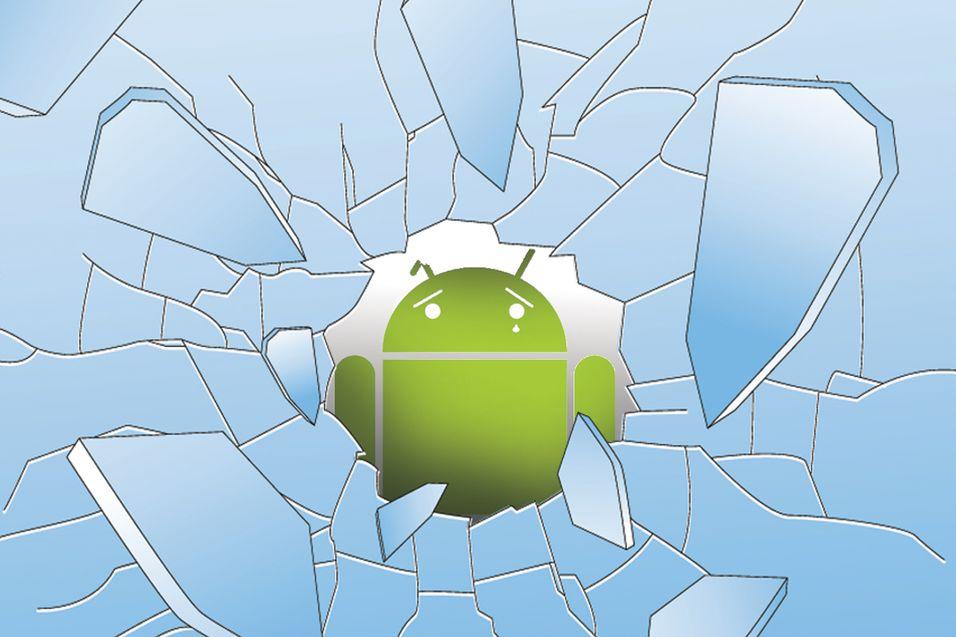 – Android-mobiler blir oftere ødelagt