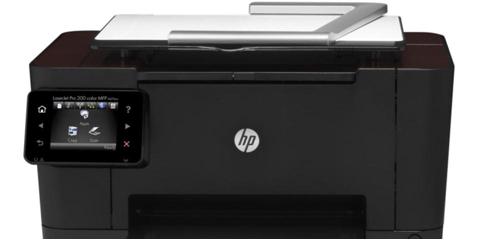 HP slipper printer/skanner med fotofunksjon