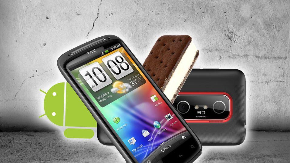 Disse HTC-telefonene får Android 4.0