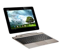 Nettbrettet kan kobles direkte til et ekstern tastatur med eget innebygd batteri. Det vil gi nettbrettet ytterligere 6 timer livetid.