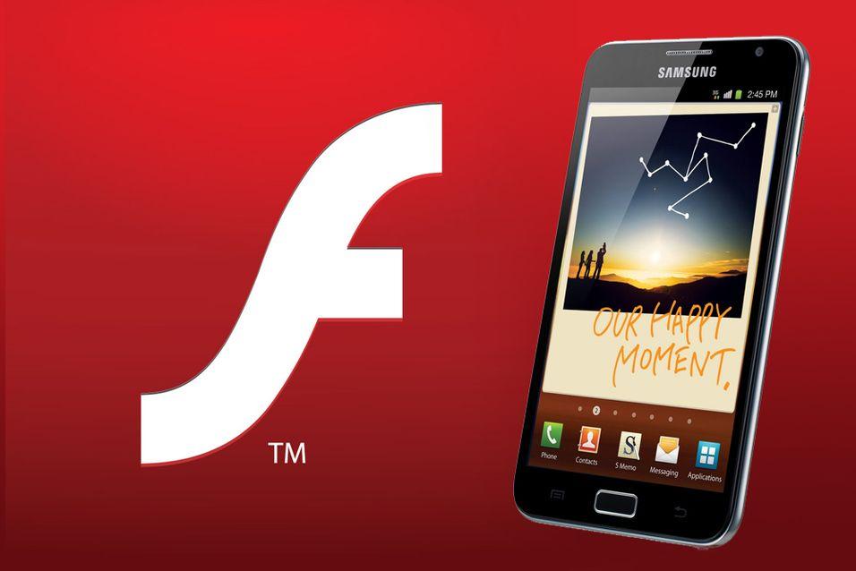 Nå blir det slutt for Flash på mobiler