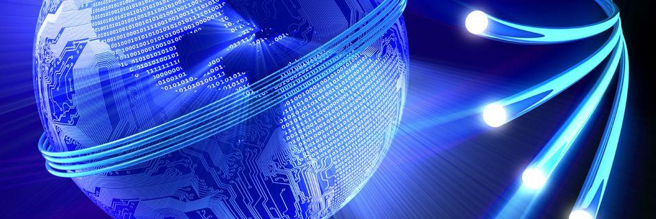 Lanserer lynraskt nettverk