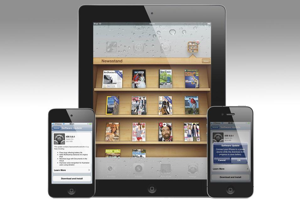 Nå kan iPhone og iPad oppgraderes
