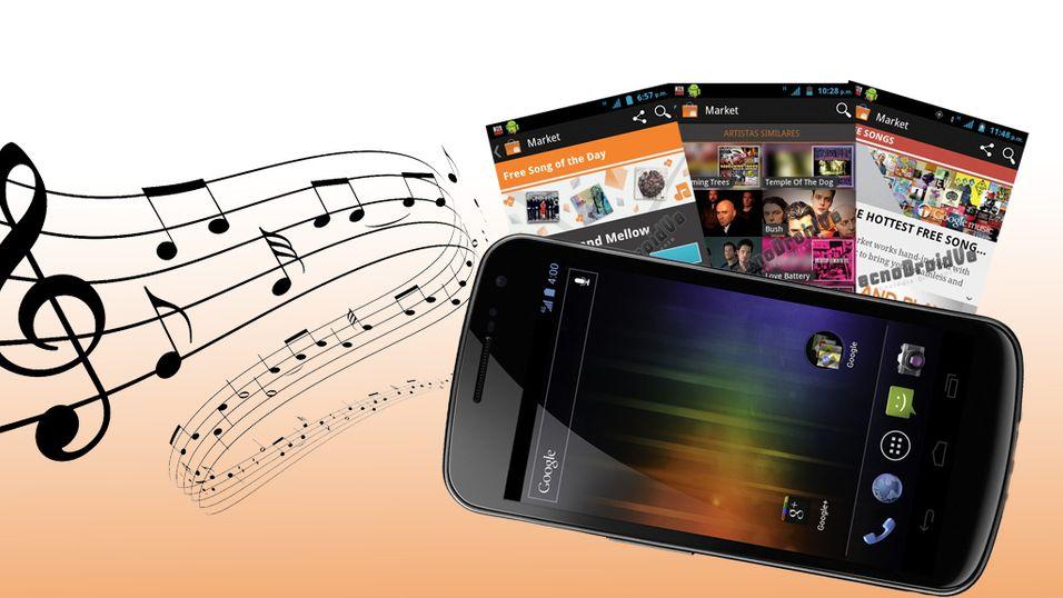Snart får du musikk i Android Market