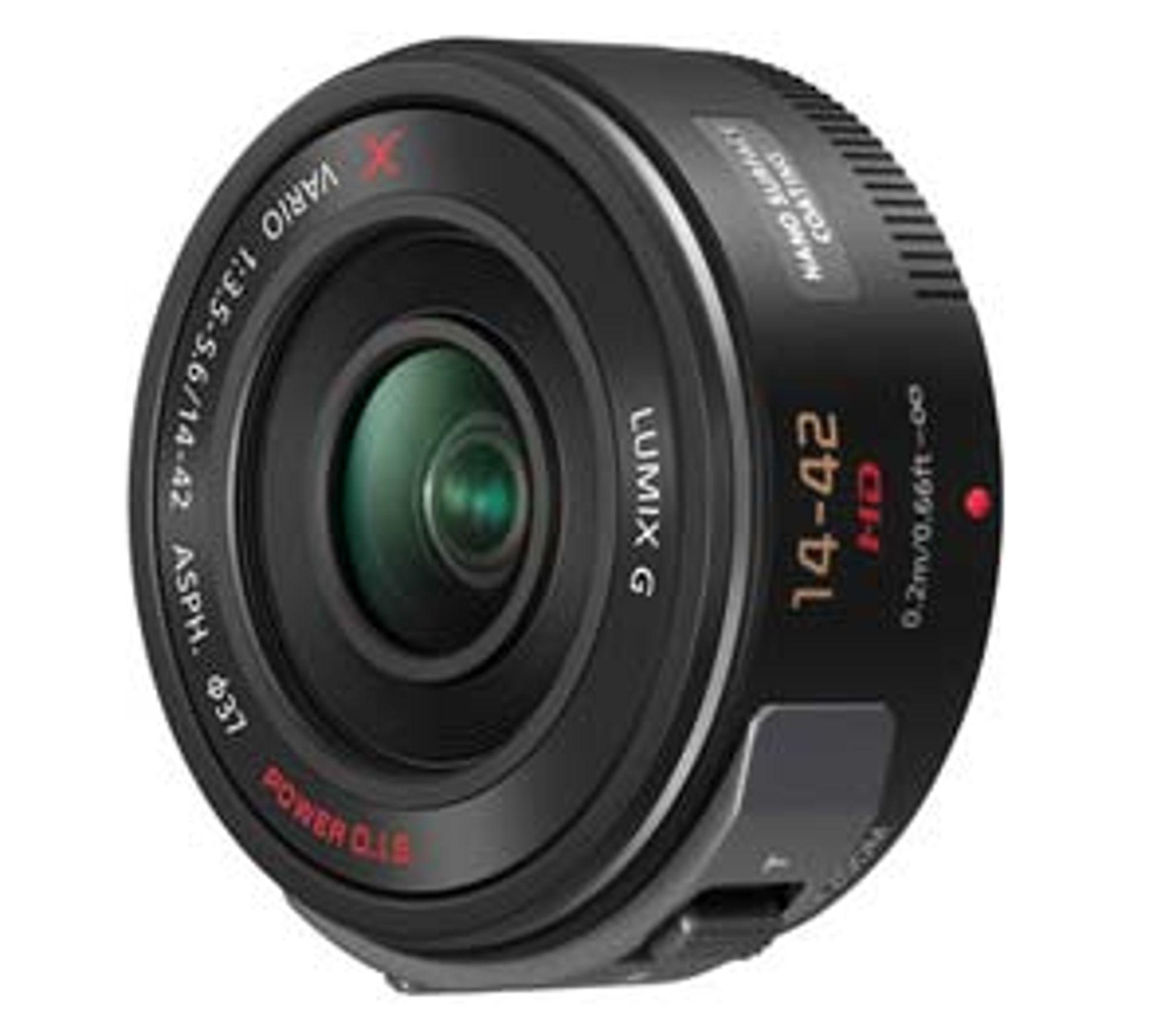 Panasonics nye 14-42mm HD F3.5-5.6 vil blir forbedret med den nye firmwaren.