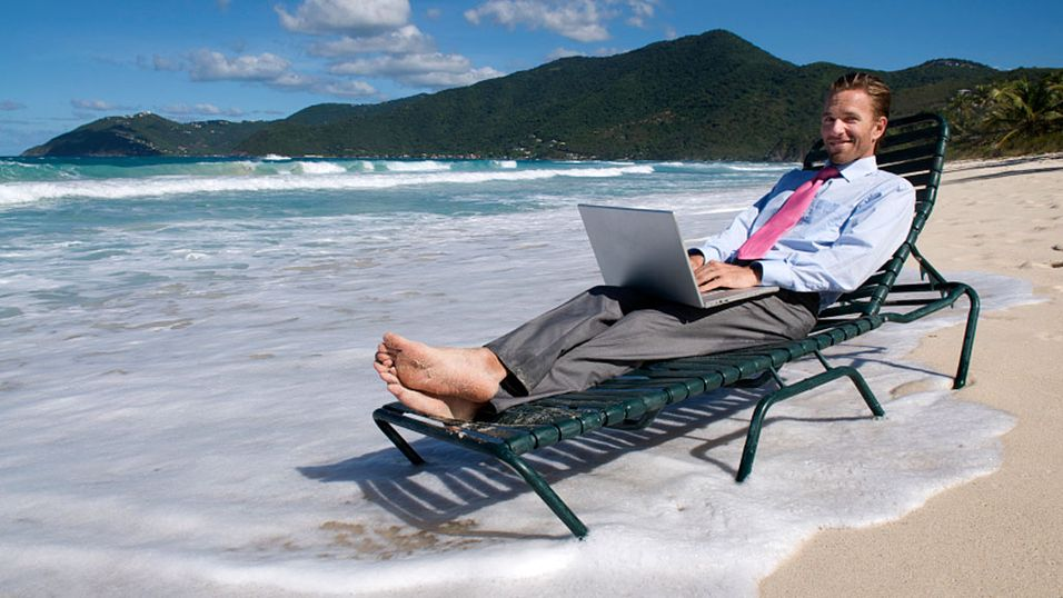 HJEMMEKONTOR? Nye teknologiske løsninger gjør stadig flere i stand til å jobbe hvor som helst. (Foto: Istockphoto.com)