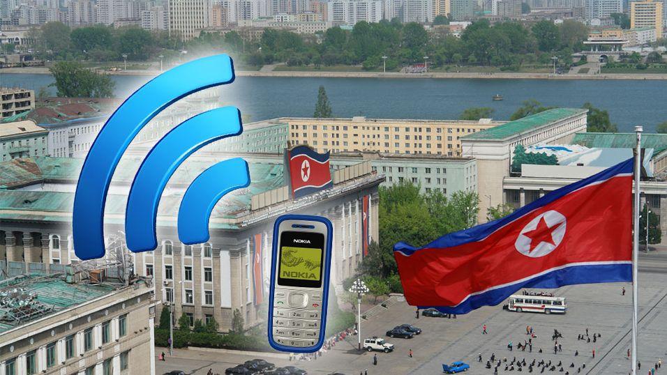 Nord-Koreas overklasse får mobil