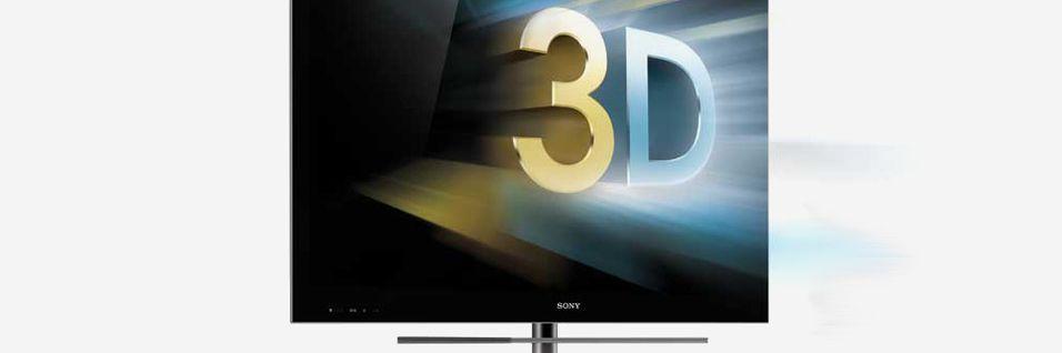 Sony skal lansere brillefrie 3DTV-er