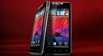 Motorola Razr har fått Android 4