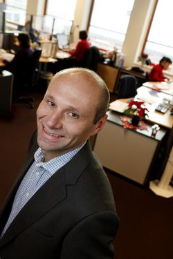 Rune Feltman, administrerende direktør i Via Travel Norge.