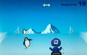 Pingvinene lever farlig når blæra er full.
