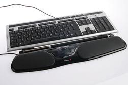 Vi brukte et UltraX-tastatur fra Logitech.