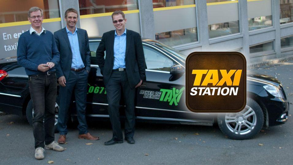 Bestill taxi direkte i appen